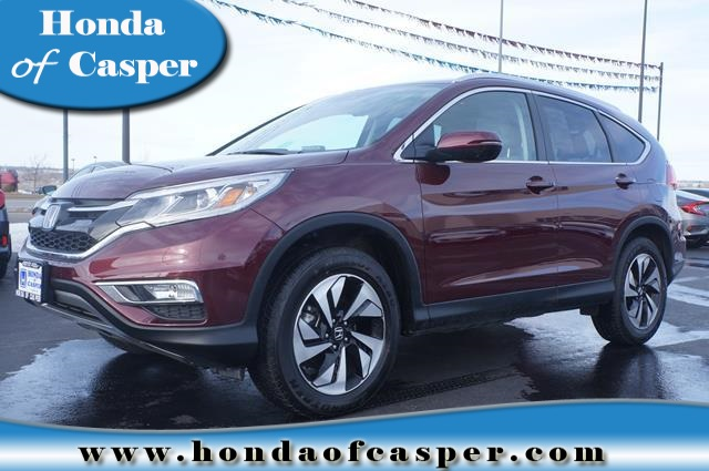 Certified pre owned 2015 honda cr v touring sport utility for Honda used certified